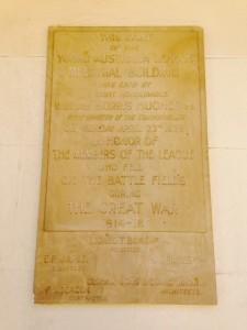 YAL plaque