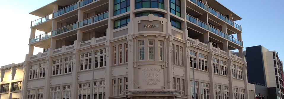 W.D and H.O Wills Warehouse Apartment Building